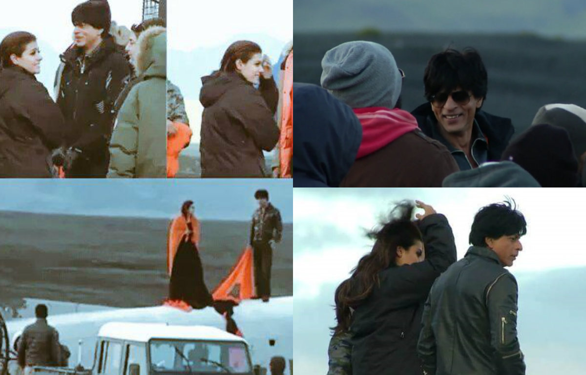 In Pictures - Shah Rukh Khan and Kajol on the sets of Dilwale in Iceland