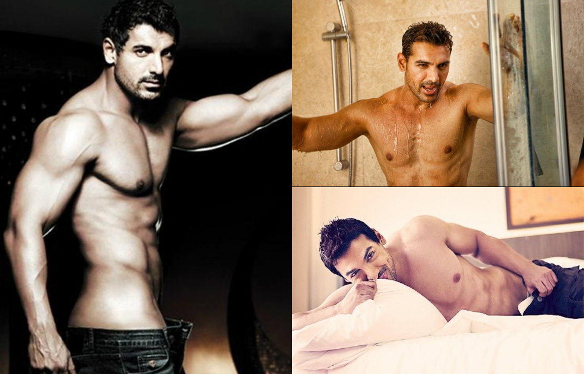 Shirtless Pictures of John Abraham that will make your heart skip a beat