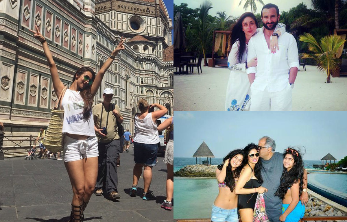 10 Bollywood divas absolutely define summer vacation in style