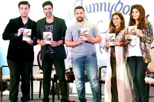Bollywood celebrities at Twinkle Khanna's book launch event