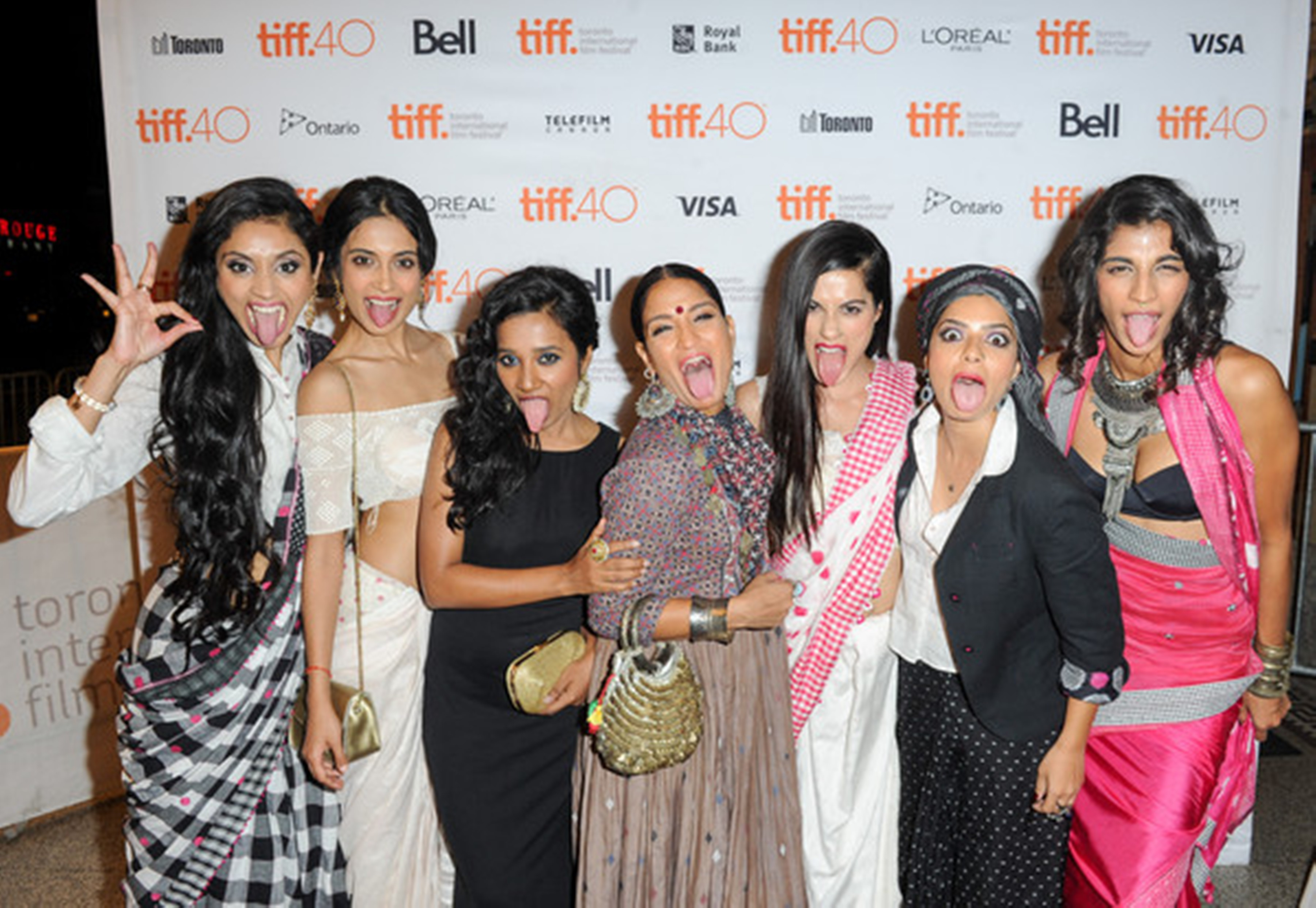 The cast of 'the Angry Indian Goddesses'