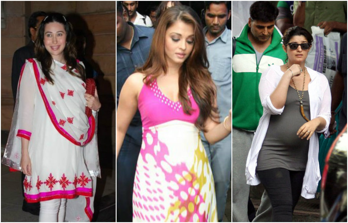 Bollywood Divas who Flaunted their Baby Bumps in Style