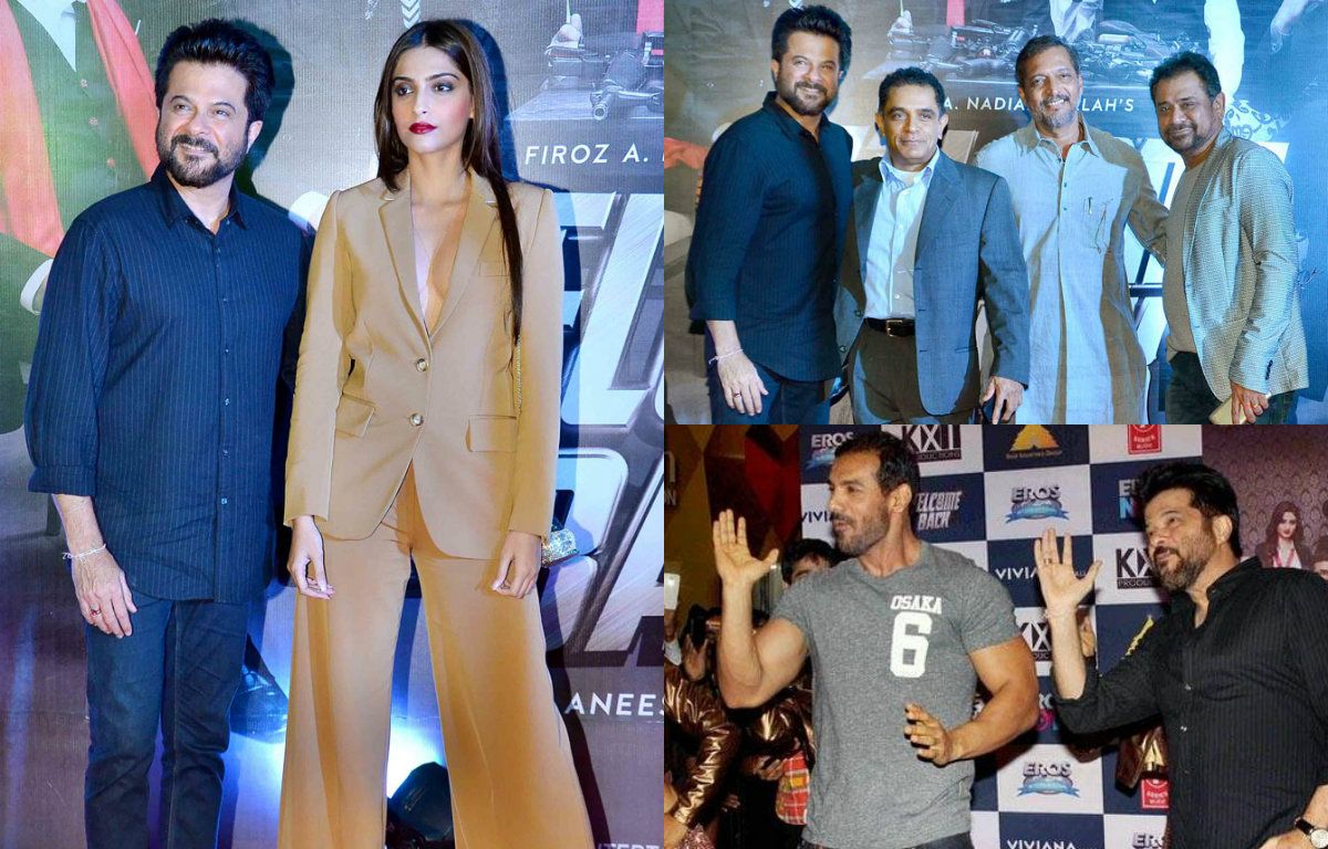 Bollywood celebrities at 'Welcome Back' premiere