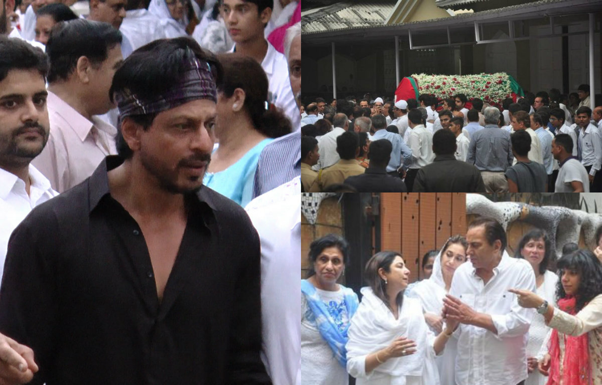 Bollywood celebrities attend Karim Morani's mother's funeral
