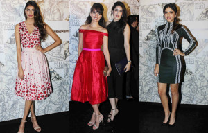 Bollywood Divas attending Koovs launch event