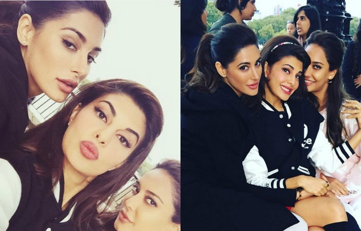 In Pictures : Jacqueline Fernandez and Nargis Fakhri partying in London