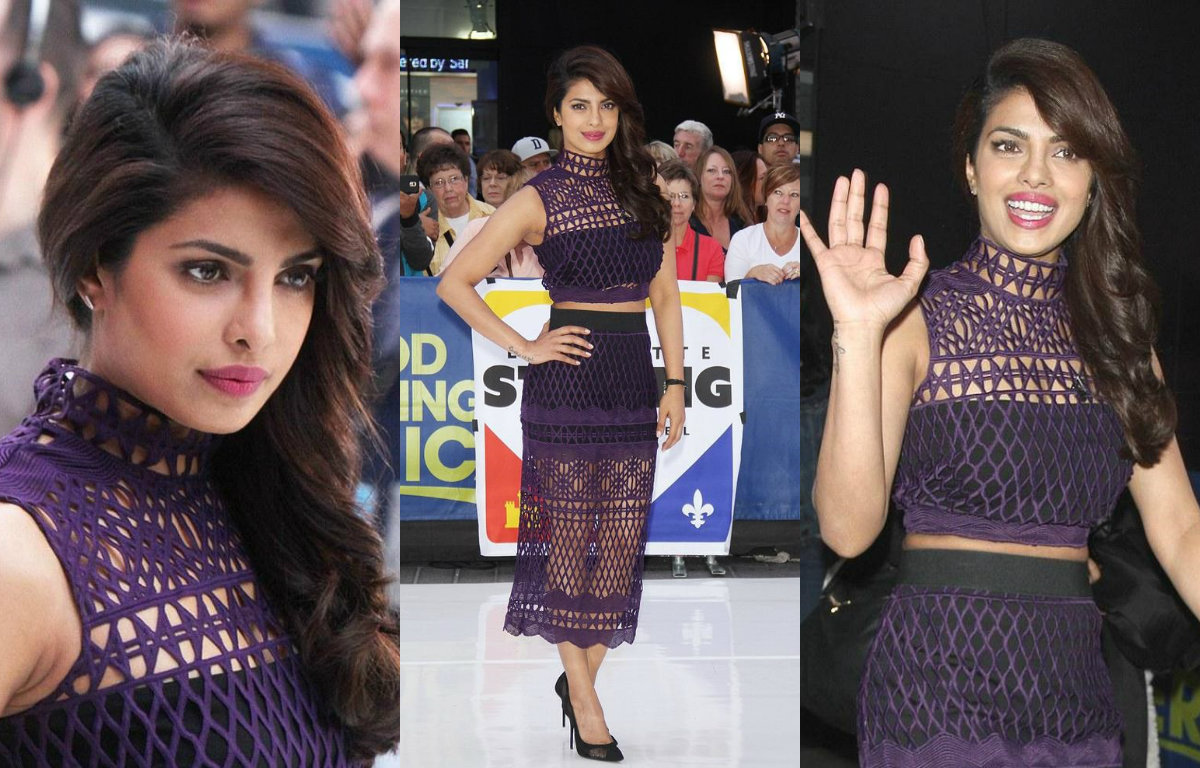 In Pictures : Priyanka Chopra rocked at the GMA show