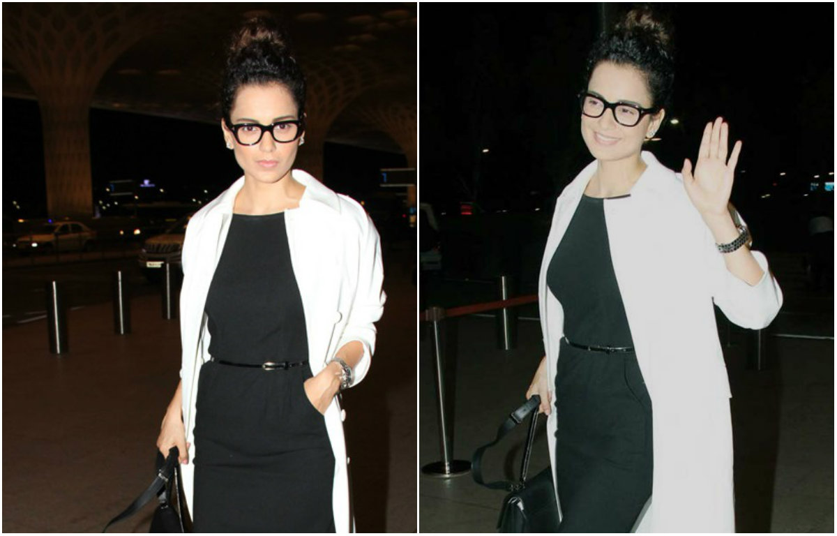 Bollywood's Queen Kangana Ranaut leaving for Paris