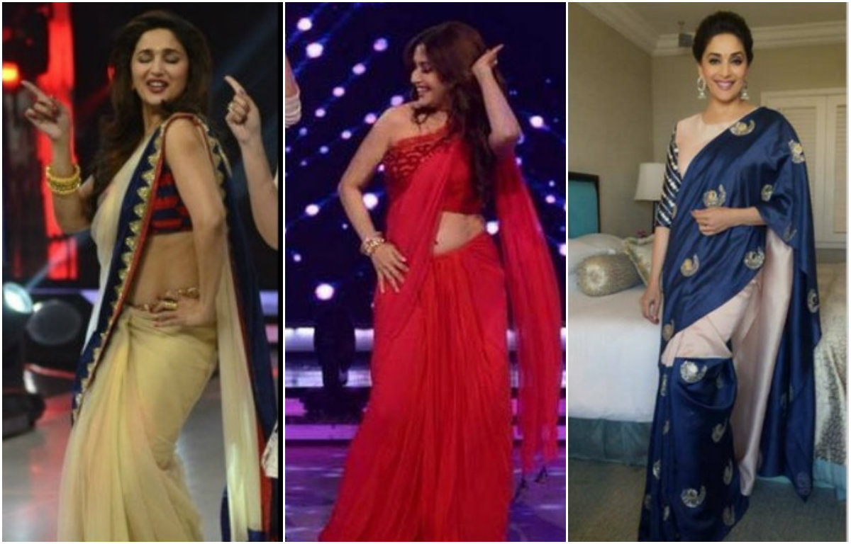 11 Saree looks of Madhuri Dixit we should be trying on ASAP!