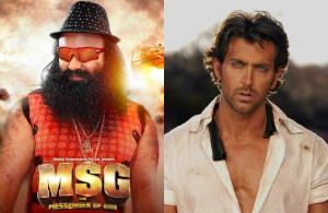 Hrithik Roshan to work with Sant Gurmeet Ram Rahim in his next