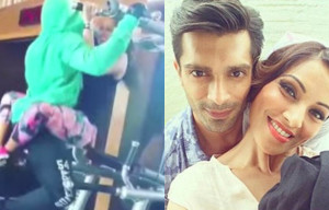 Watch : Bipasha Basu's steamy workout session with beau Karan Singh Grover