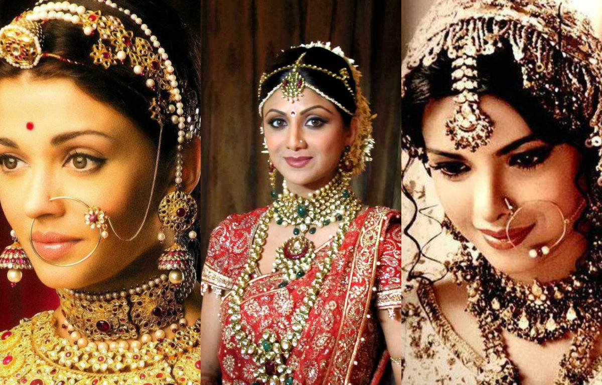 Stunning: 8 of your favourite actresses in bridal look