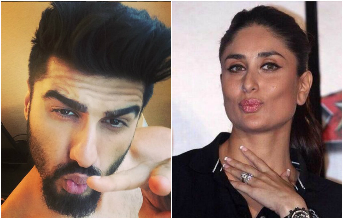 These pictures prove that Arjun Kapoor can give a complex to Kareena Kapoor in pouting