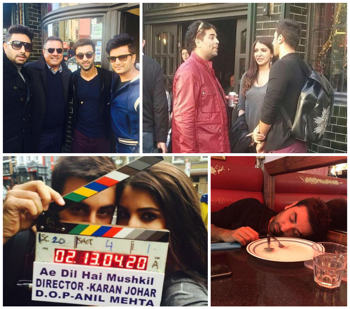 In pictures : Star cast of 'Ae Dil Hai Mushkil'  in London