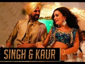 Watch - Akshay Kumar in Singh & Kaur from 'Singh Is Bliing'