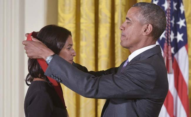Jhumpa Lahiri gets National Humanities Medal from Obama