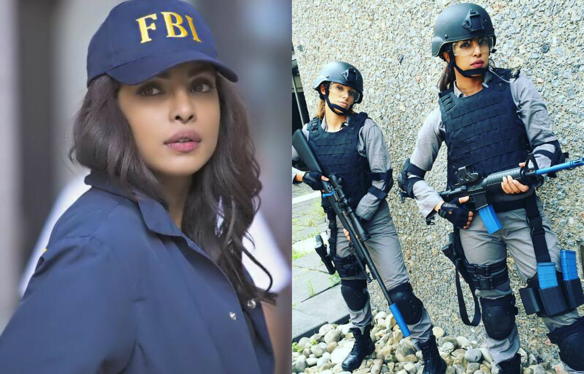 These pictures prove that Priyanka Chopra rocks the cop look completely