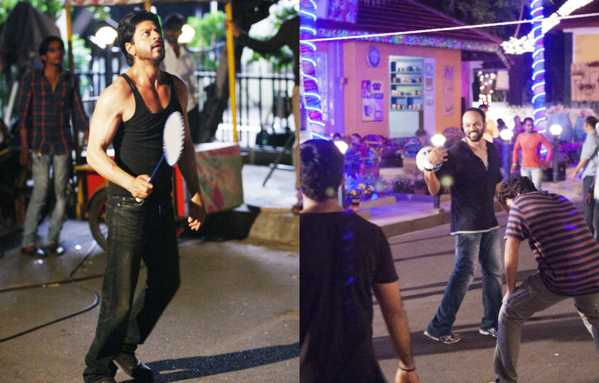 In Pictures - 'Dilwale' team bonding over Badminton and Volleyball
