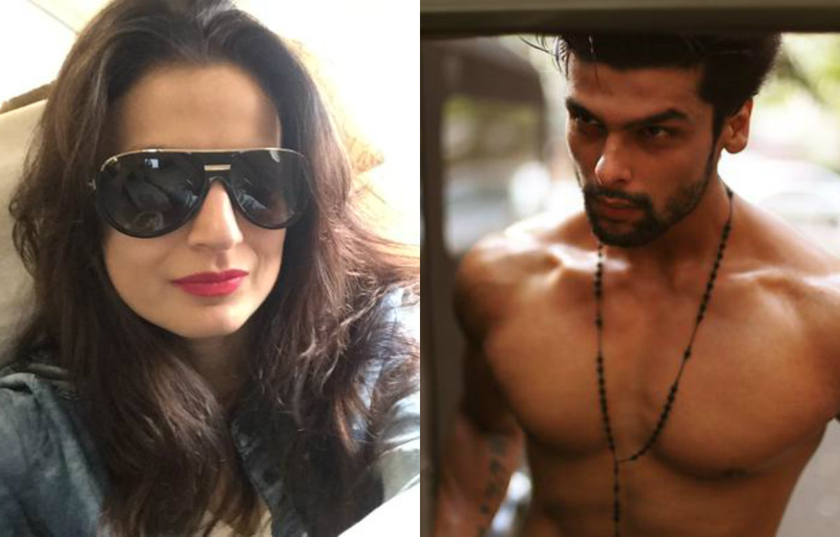 OMG - Ameesha Patel slams Kushal Tandon on Twitter