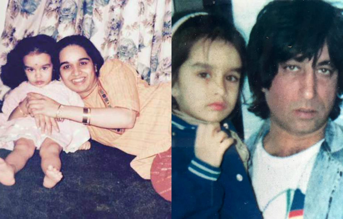 In pictures: Rare childhood photos of Shraddha Kapoor