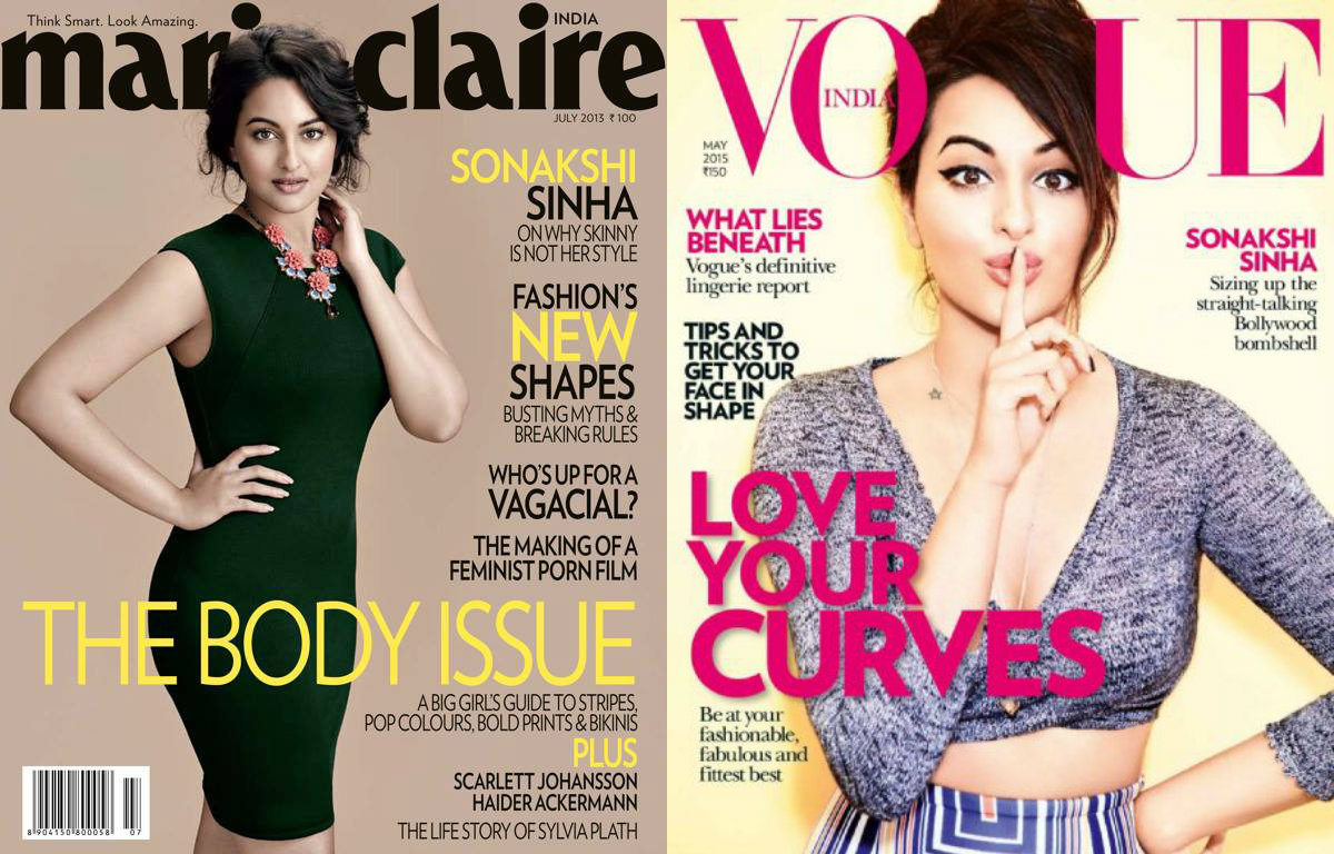 Wow! 8 times Sonakshi Sinha dazzled the magazine covers