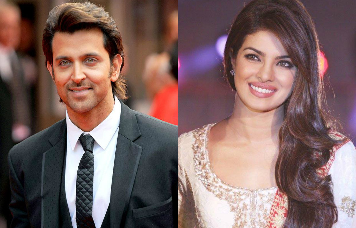Hrithik Roshan wishes Priyanka Chopra all the best for