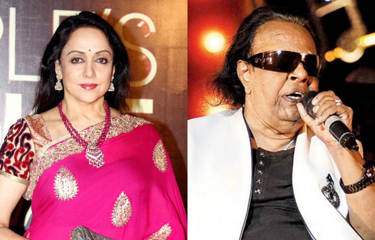 Hema Malini, Khayyam pay tribute to Ravindra Jain