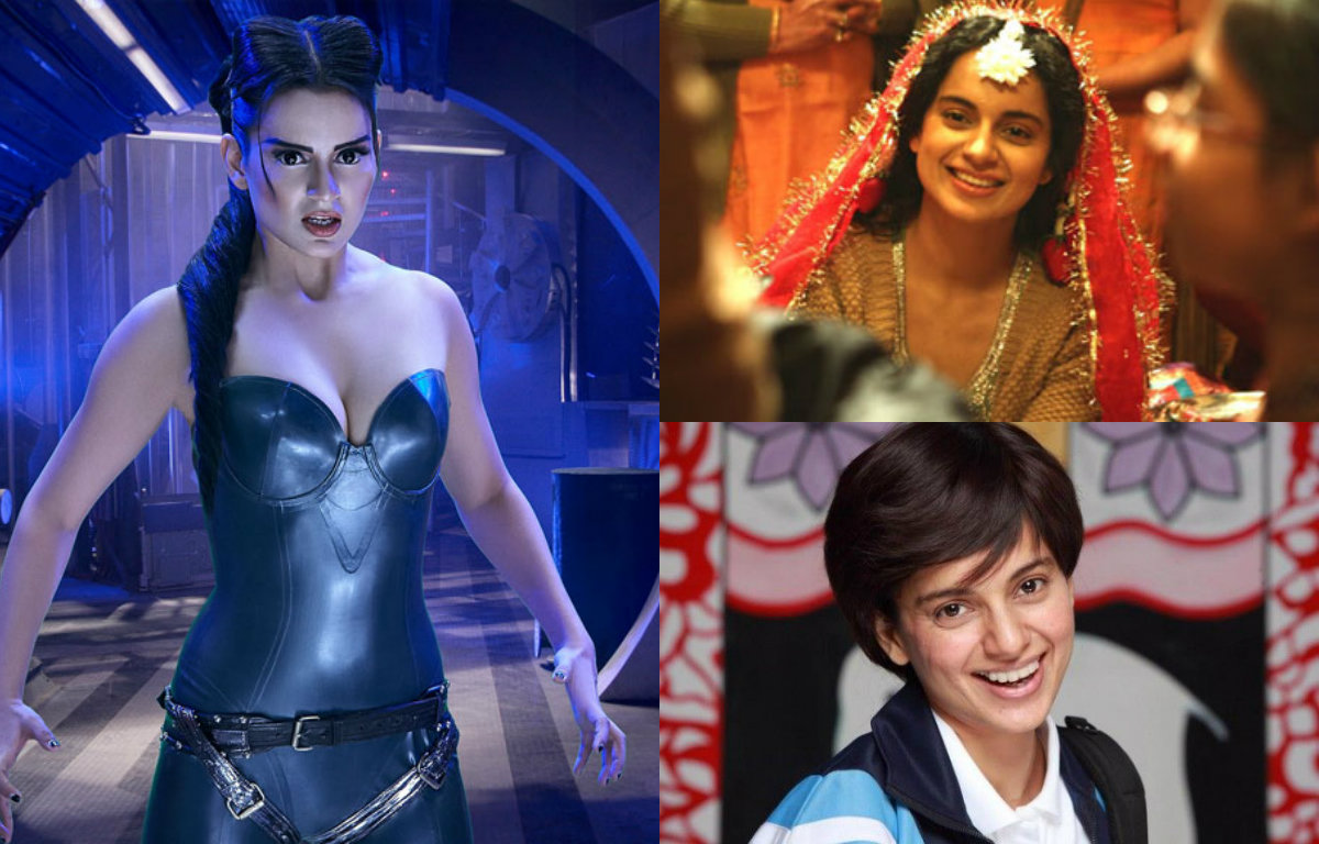 10 Different looks of Kangana Ranaut which prove that she is the real queen of Bollywood