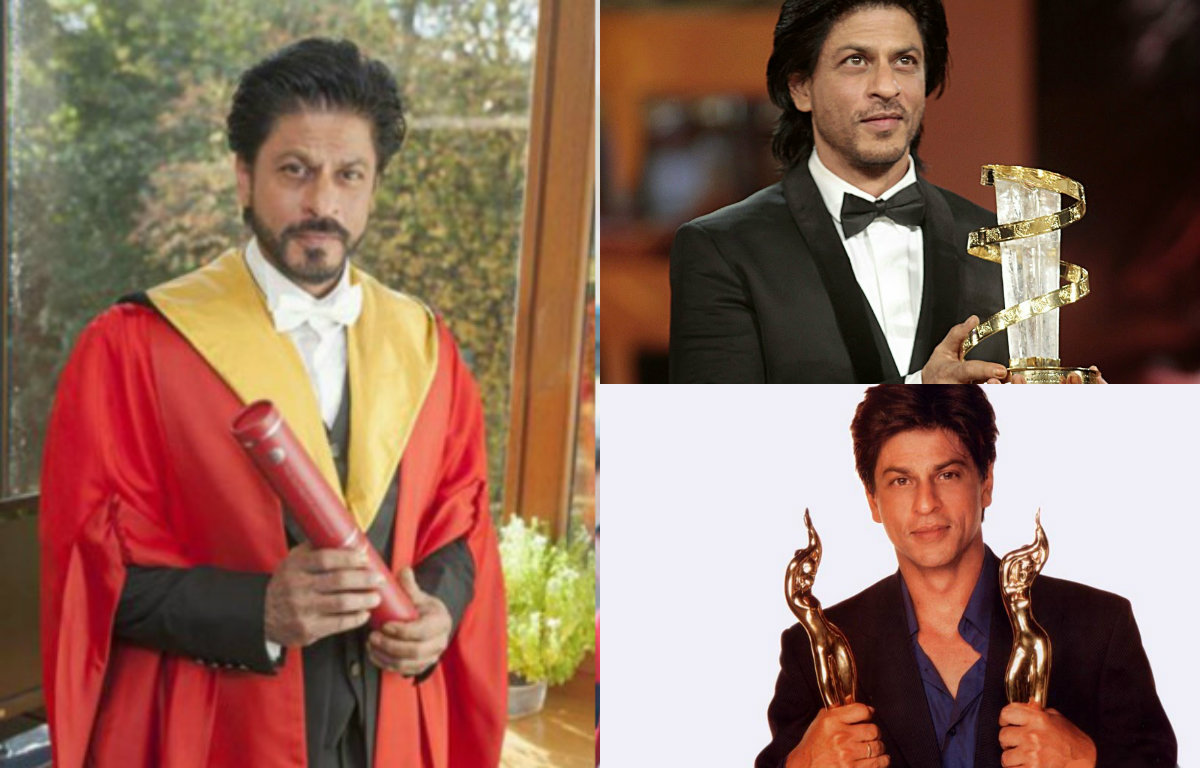 In Pictures : Shah Rukh Khan's Achievements in life