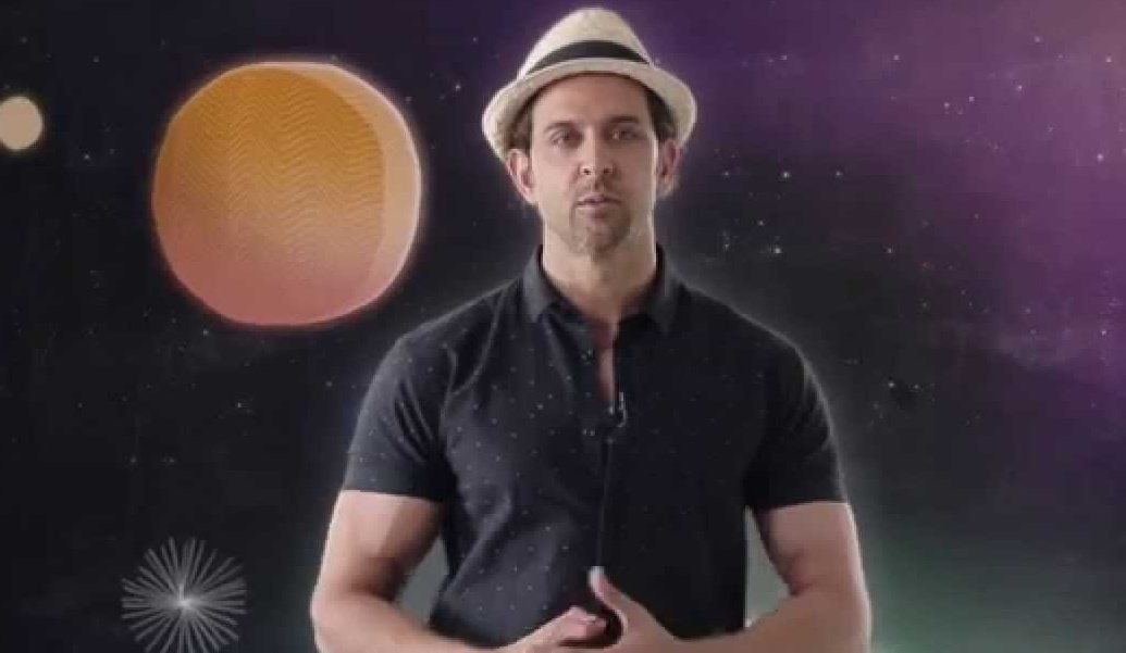 Hrithik Roshan introduces The World's Largest Lesson