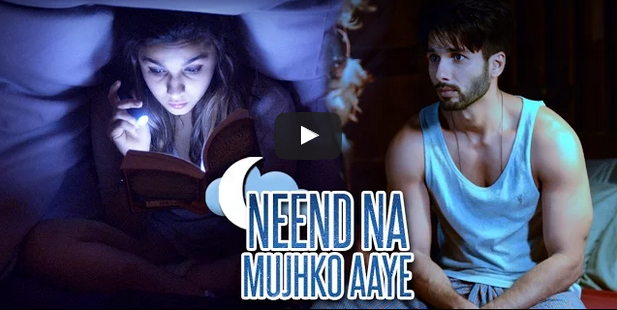 Watch - Shahid Kapoor - Alia Bhatt in 'Neend Na Mujhko Aaye' song from 'Shaandaar'