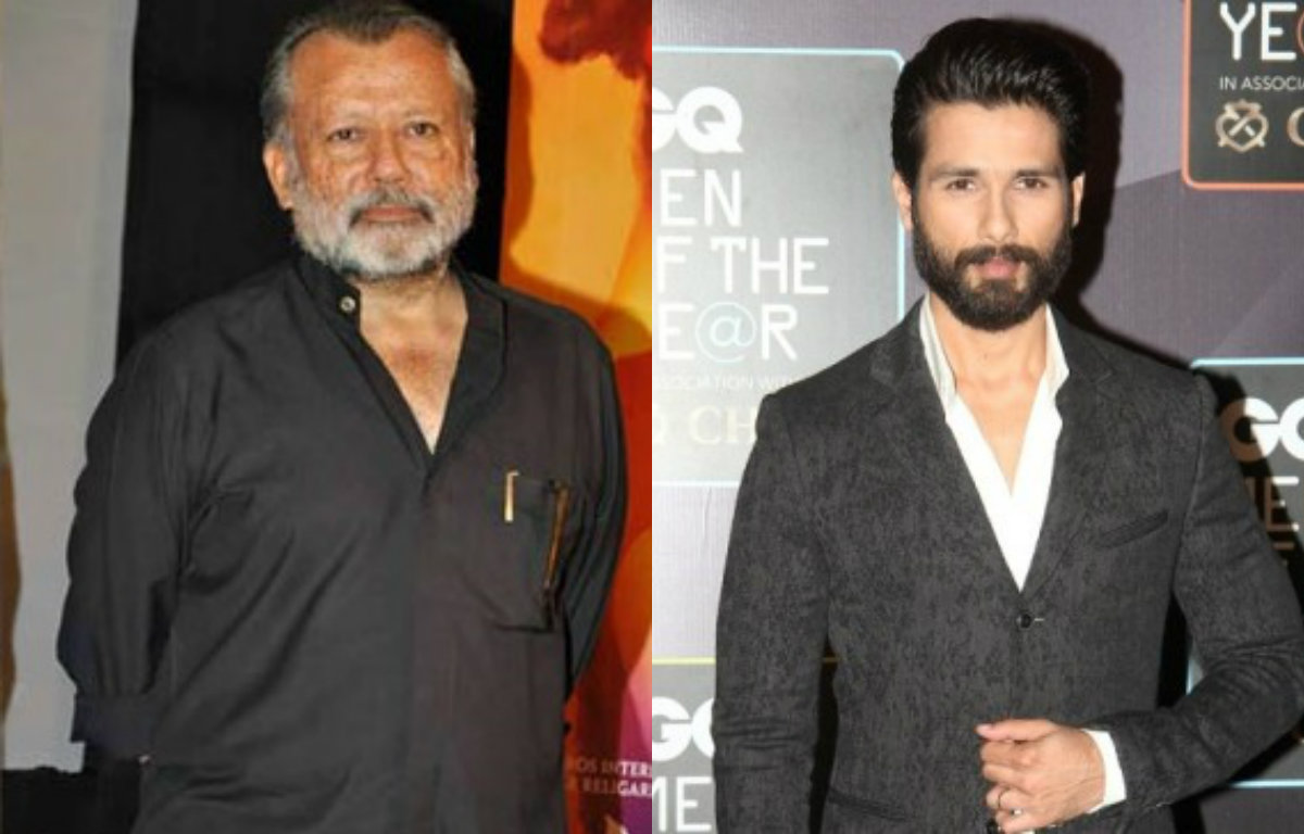 Shahid Kapoor - Was nervous to work with father