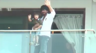 When AbRam stole the show from his father Shah Rukh Khan on his birthday