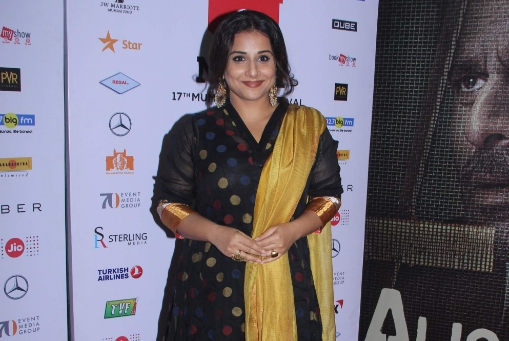 Vidya Balan : Art is beyond all boundaries