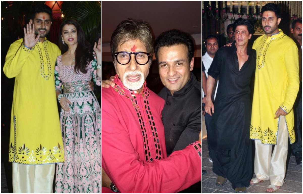 In photos: When the Diwali bash from Amitabh Bachchan went star-studded