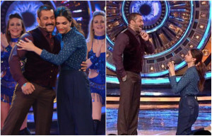 Watch : Deepika Padukone's romantic proposal to Salman Khan
