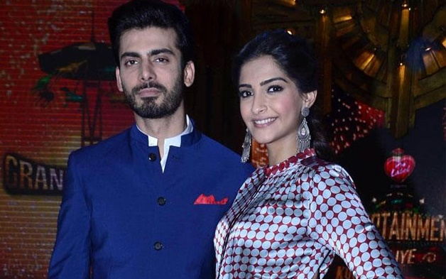 So much 'Khobsoorati' in one picture: Fawad Khan and Sonam Kapoor take a selfie