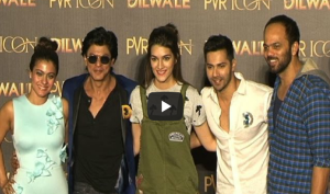 Watch -  Dilwale song 'Manma Emotion Jaage Re' launch event
