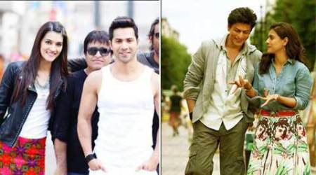 Varun Dhawan, Kriti Sanon not scared of being overshadowed by SRK, Kajol