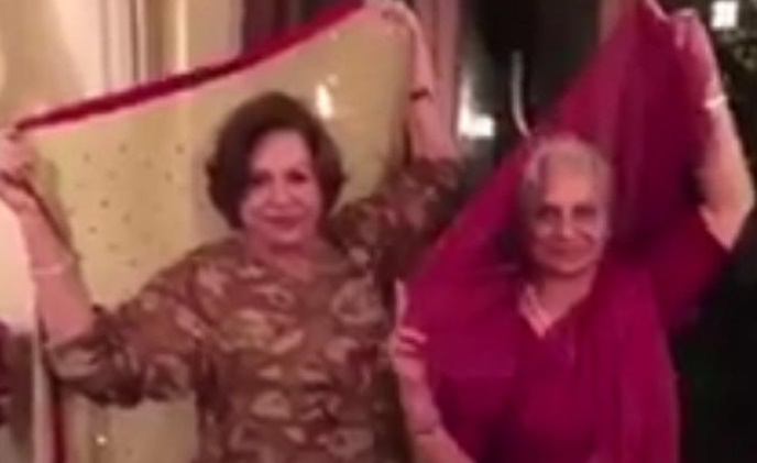 Watch - Salman Khan's mother dancing to the tunes of PRDP