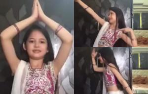 Watch - Harshaali Malhotra's Super-Cute 'Prem Ratan Dhan Payo' Dubsmash