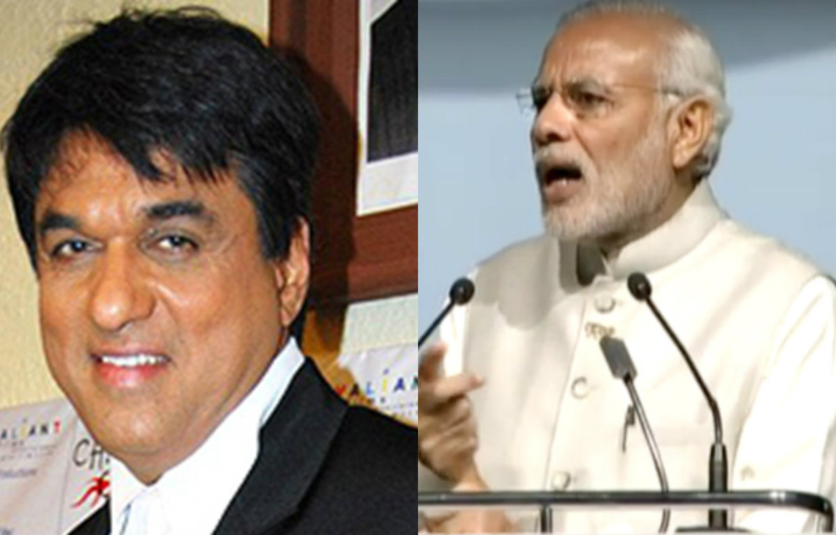 India can develop only under Modi's leadership, says Mukesh Khanna