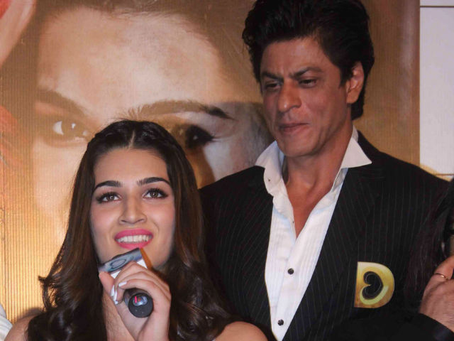 Shah Rukh Khan wants to spend more as producer : Kriti Sanon