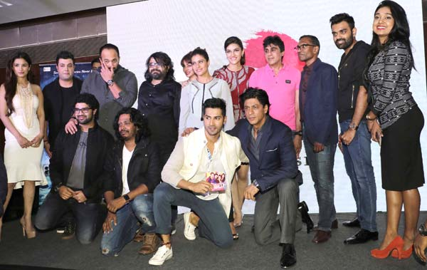 Photos: Team 'Dilwale' at launch of new song 'Tukur Tukur'