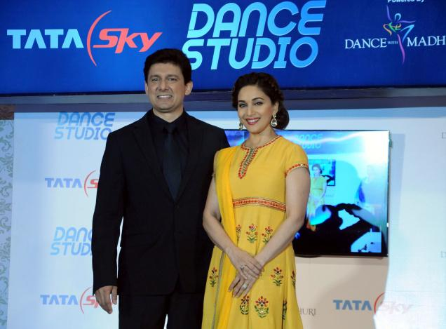 Tata Sky partners Madhuri Dixit to launch ''Dance Studio''