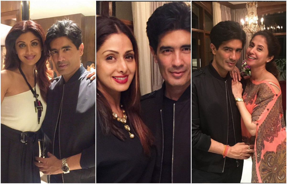 In Pictures - Bollywood Beauties attend Manish Malhotra's Birthday Bash