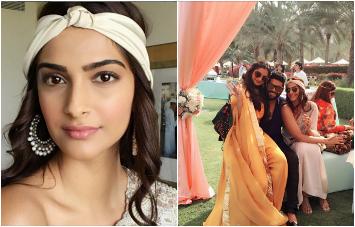Check Out : Sonam Kapoor and Rhea Kapoor chilling in Oman