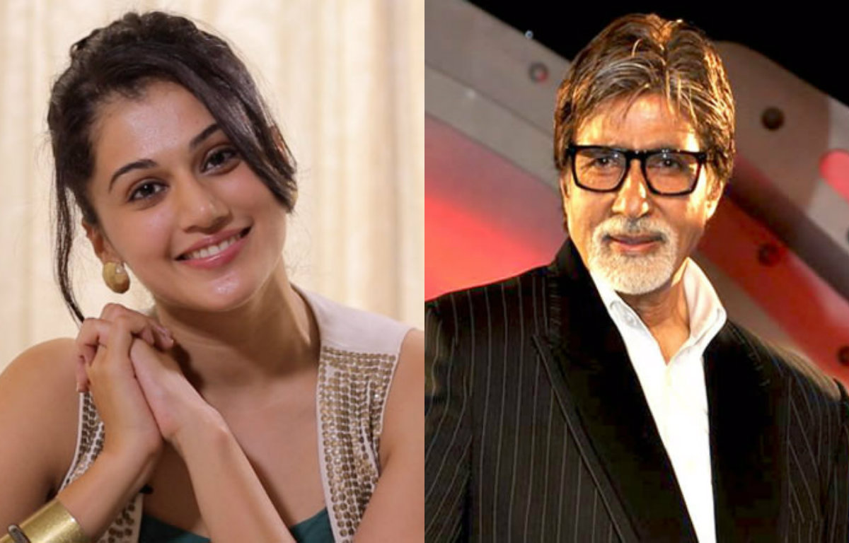 Taapsee Pannu to share screen space with Amitabh Bachchan