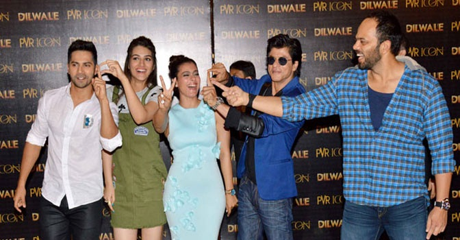 Day 5 - Shah Rukh Khan's 'Dilwale' moves steady at the box-office