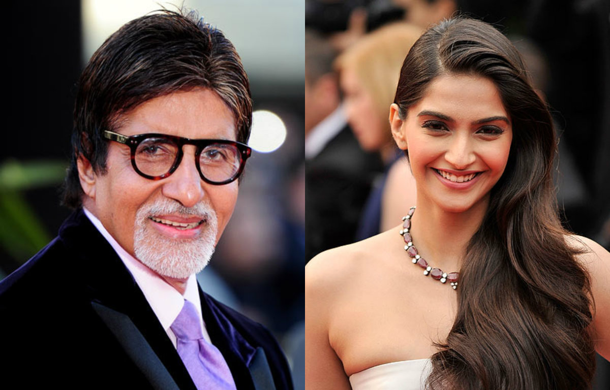 Sonam Kapoor thanks Amitabh Bachchan but why?
